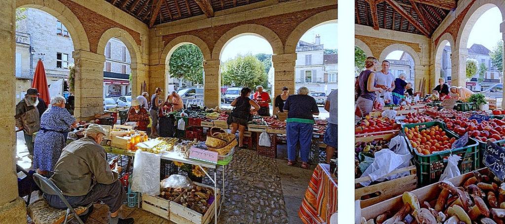Halles et marché Lalinde