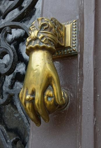Heurtoir bronze