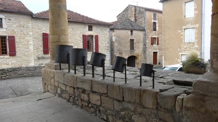 Villefranche-du-Périgord, mesures à grain