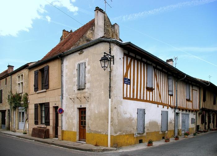 Maison à colombages Monségur