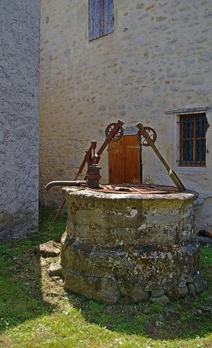 Pellegrue puits
