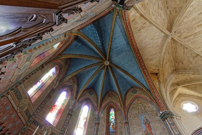 L'abside de l'église Notre-Dame (14e siècle)