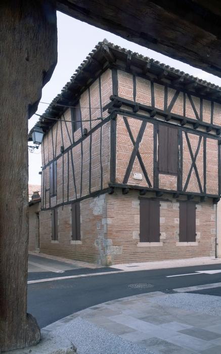 Maison à pans de bois rue Marcellin Serré