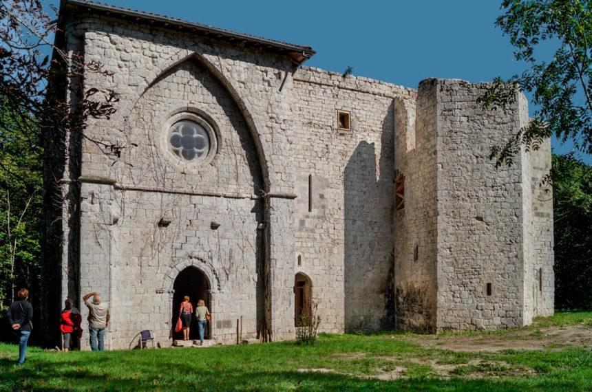 Entrée prieuré la Grange