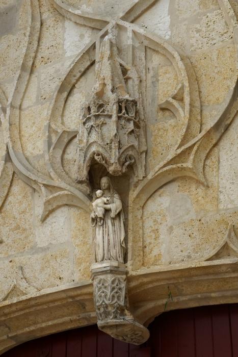 Portail de l'église Notre-Dame
