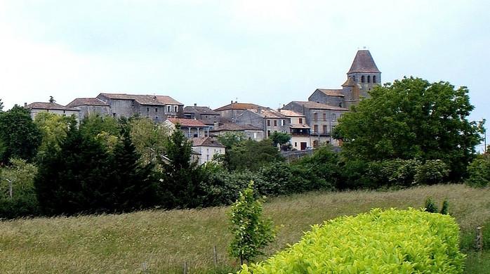 Village et église