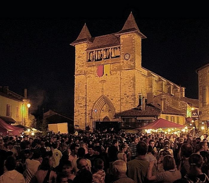 La fête à Villeréal