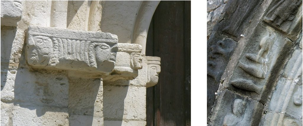 Sculptures église