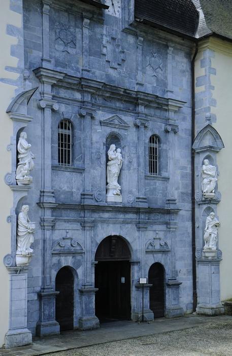 La façade du sanctuaire de Bétharram (17è s)
