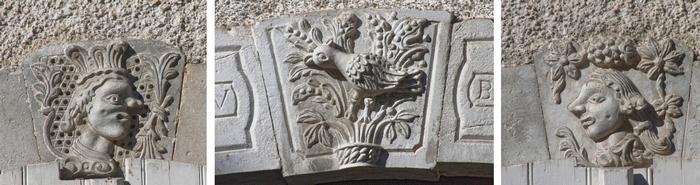 Sculptures Oiseau Blanc