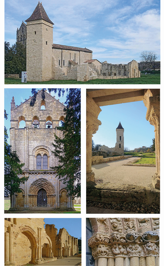 Blasimon, l'abbaye Saint-Nicolas, photos Christelle Counilh, nov. 2020